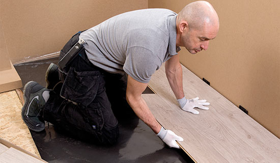 russells flooring professional fitters